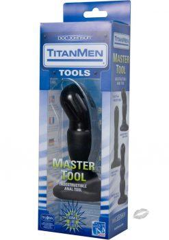 Titanmen Tools Master Tool Number 1 5.5 Inch Black