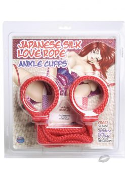 Japanese Anklecuffs - Red