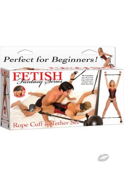 Fetish Fantasy Rope Cuff and Teather Set