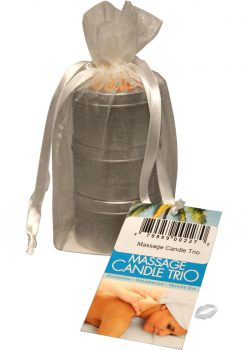 Massage Candle Trio 3 2oz Per Bag