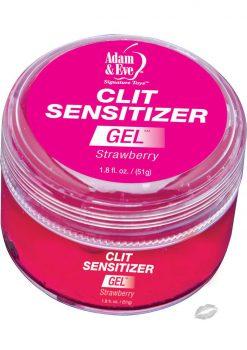 Adam And Eve Clit Sensitizer Gel Strawberry 1.8 Ounce