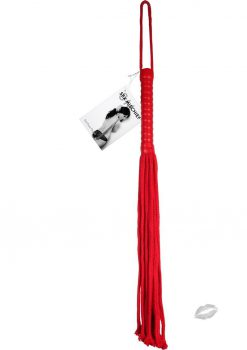 Sex and Mischief Red Rope Flogger