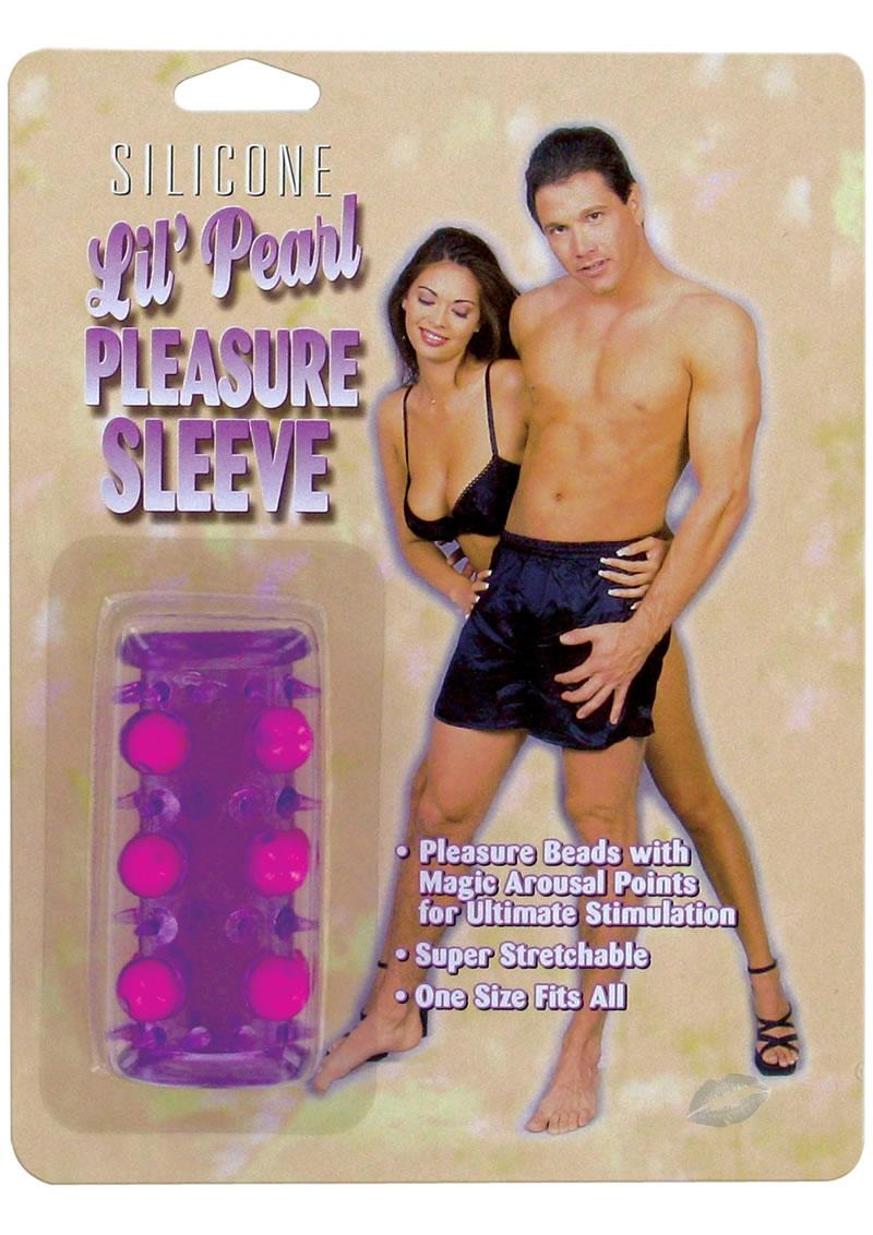 Lil` Pearl Pleasure Sleeve Purple