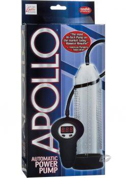 Apollo Automatic Power Pump Remote Control Clear 10 Inch