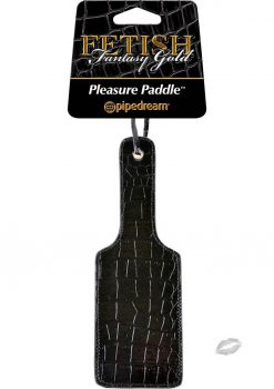 Fetish Fantasy Gold Paddle