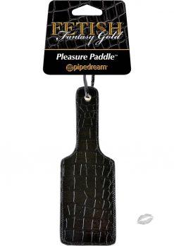 Fetish Fantasy Gold Paddle
