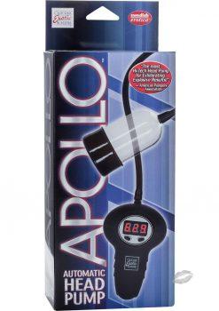 Apollo Automatic Head Pump Remote Control Penis Pump Clear