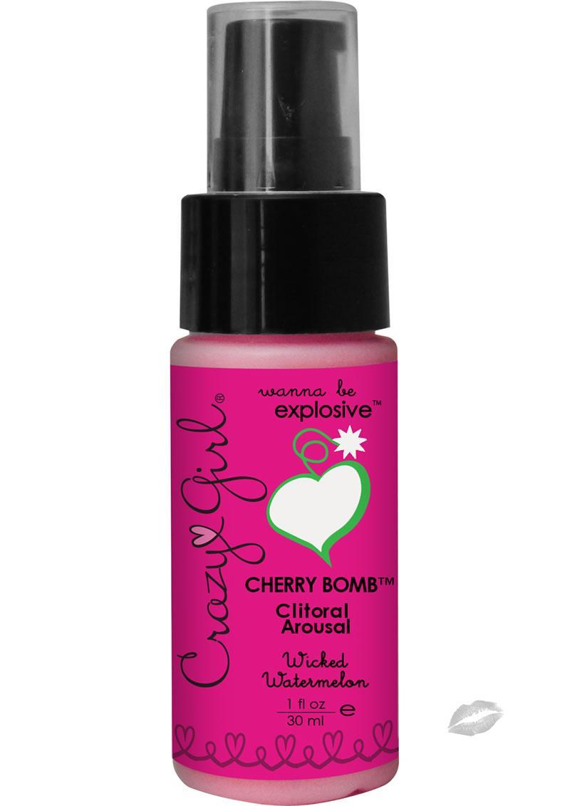 Crazy Girl Cherry Bomb Watermelon 1oz