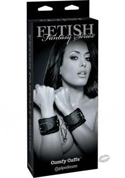 Fetish Fantasy Cumfy Cuffs Adjustable Black