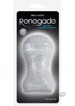 Renegade Grooved Pleasure Stoker Clear