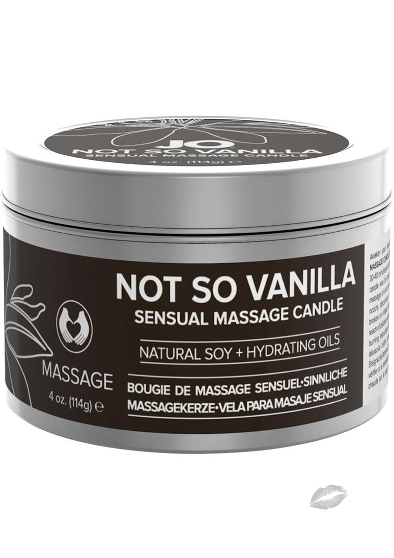 Not So Vanilla Massage Candle 4oz