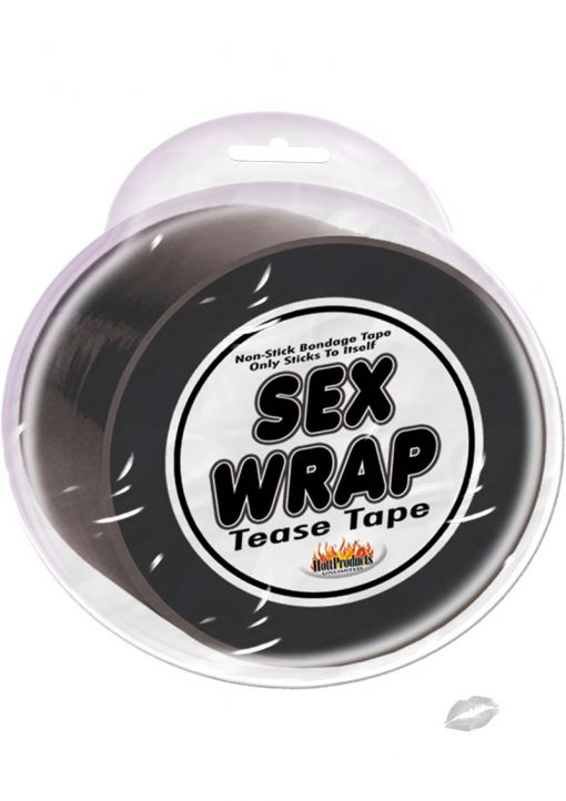 Sex Wrap Tease Tape Black