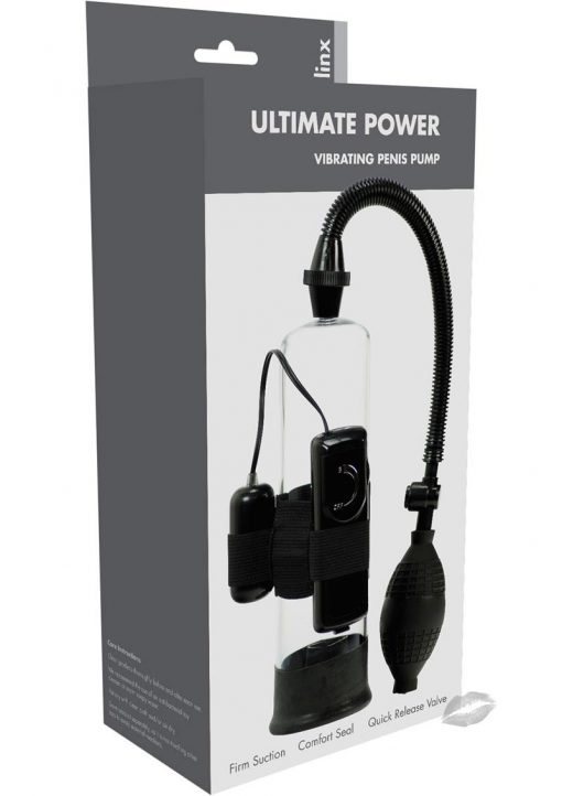 Linx Ultimate Power Penis Pump Clear
