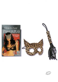 Tera`s Kitty Cat Mask with Whip