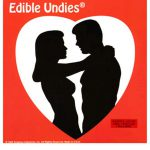 His And Hers Edible Undies 3 Piece Champagne