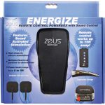 Zeus Energize Remote Control Electro Stim Power Box Black