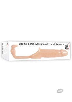 Adam And Eve Penis Extention With Anal Probe Flesh 6 Inch