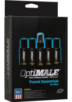 Optimale Men Sexual Health And Wellness Travel Essentials Kit