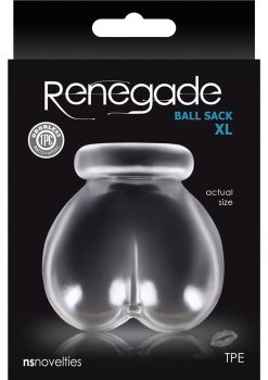 Renegade Ball Sack Extra Large Clear