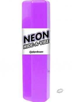 Neon Hide A Vibe Purple