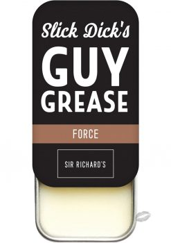 Slick Dick's Guy Grease Solid Cologne Musky Scent Force .5 Ounce Tin