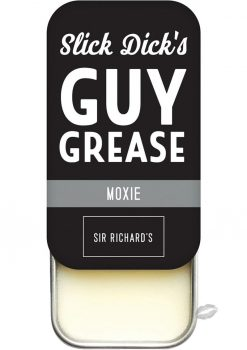 Slick Dick's Guy Grease Solid Cologne Unisex Scent Moxie .5 Ounce Tin