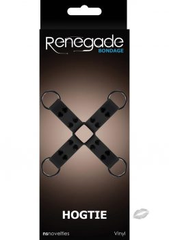 Renegade Bondage Hogtie Black