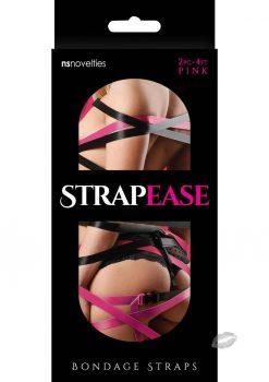 Strap Ease Bondage Straps 4' Pink