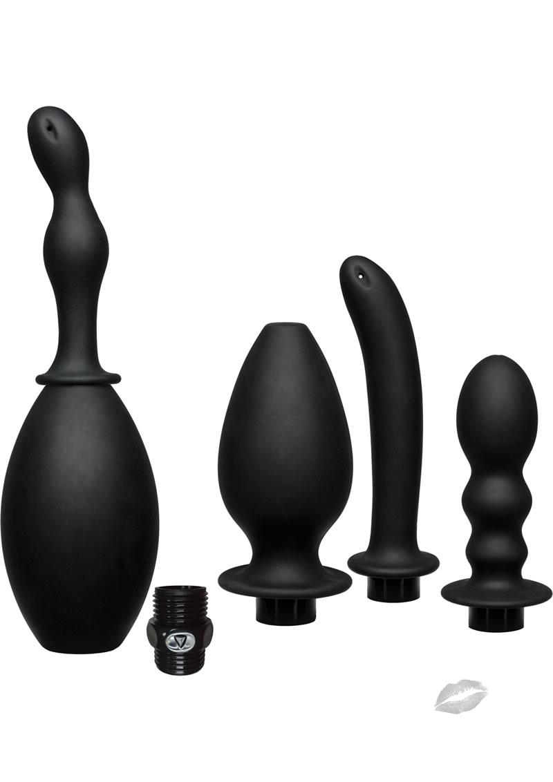 Silicone Anal Douche and Accessory