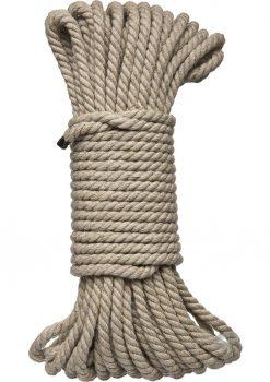 Kink Hogtied Bind and Tie Hemp Bondage Rope 50 Feet