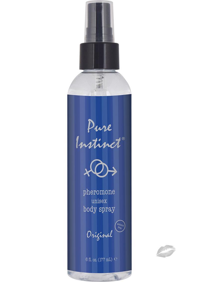 Pure Instinct Pheromone Unisex Body Spray Original Scent 6 Ounce
