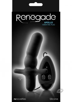 Renegade Apollo Vibrating Plug Black