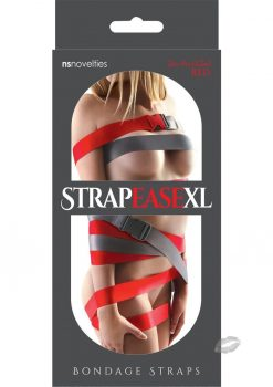 Bondage Straps Red 2  4ft (1.2m)