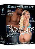 Blow Ups Interracial Cuckold Doll Set