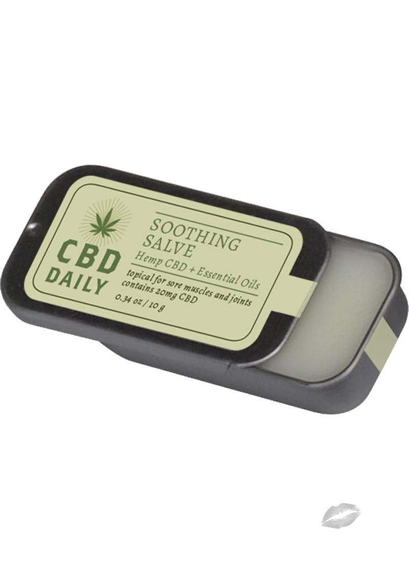 CBD Daily Soothing Salve 0.34 oz.