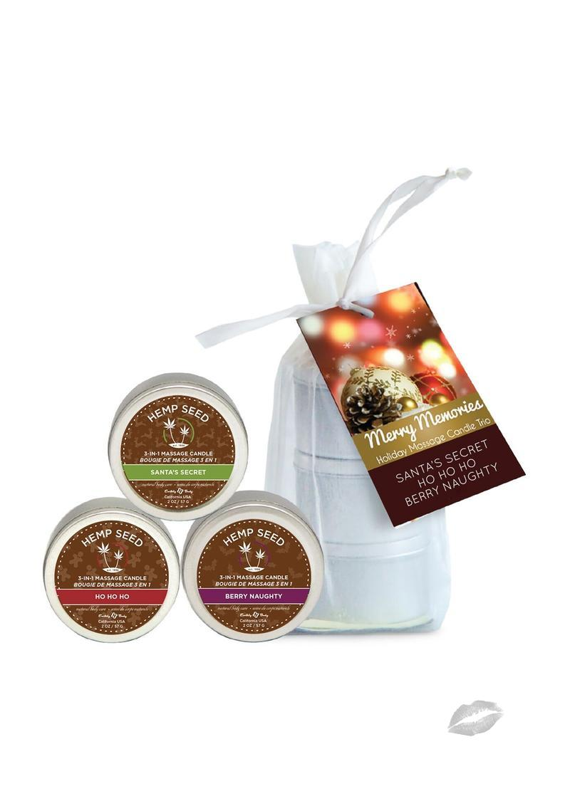 Holiday 2017 Trio Candle Bag 3/2oz