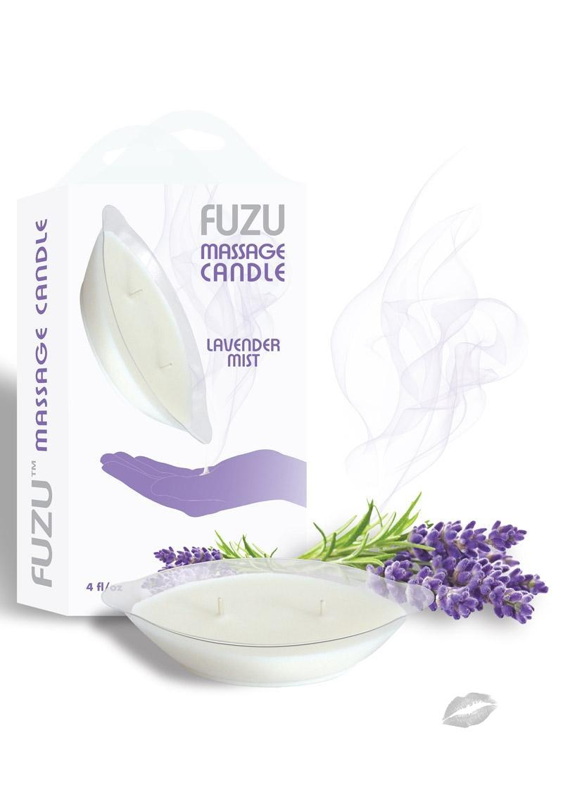 Fuzu Massage Candle Lavender Mist 4 Ounce