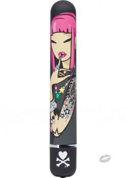 Tokidoki 7 Function Girl Power Vibrator Sugar Rush Waterproof Black