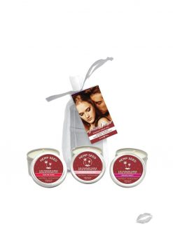 Valentine 2018 Candle Trio Bag With Three 2oz Candles