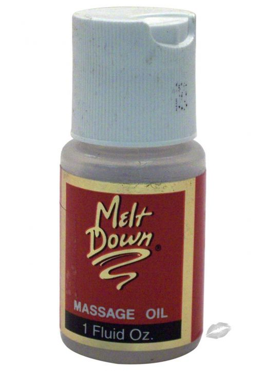 Meltdown Massage Oil 1oz Musk