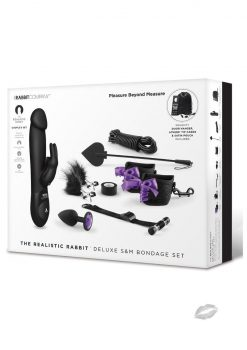 The Realistic Rabbit Deluxe SandM Bondage Set