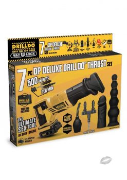 Drilldo Double Penetration Deluxe Thrust 7 Piece Set